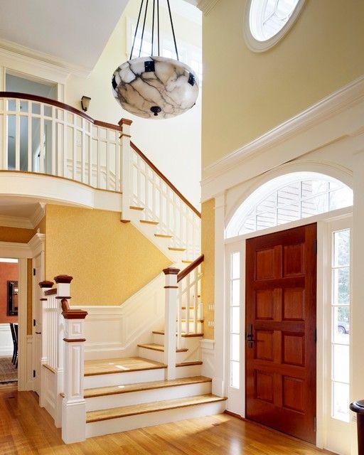 Blooming Main Hall Door With Wood Floor And Arts
