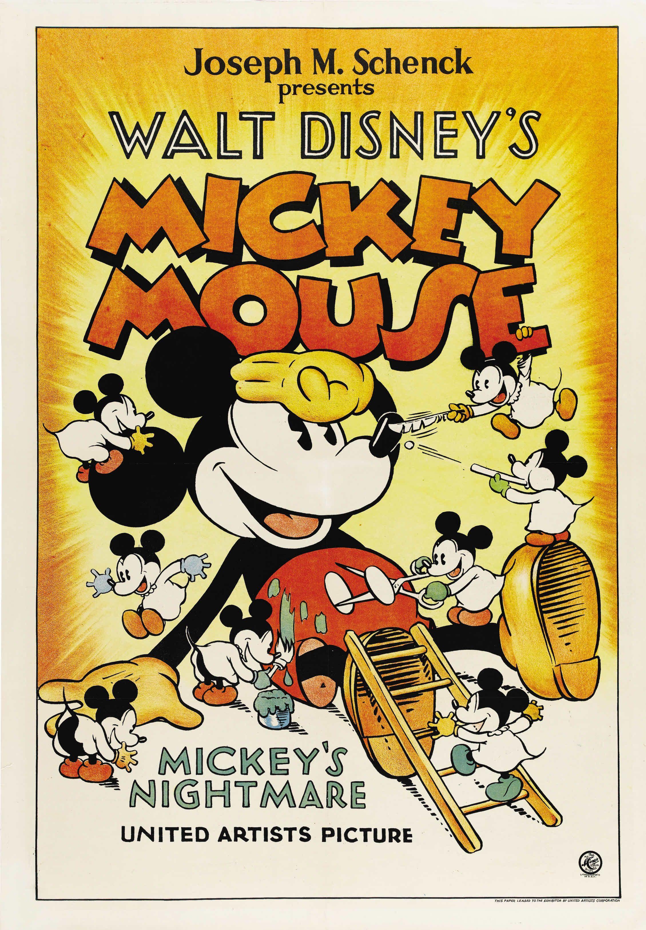 "DISNEY GROUP POSTER PRINT POP CULTURE CARTOON MICKEY MOUSE MINNIE DONALD 24""x36"""