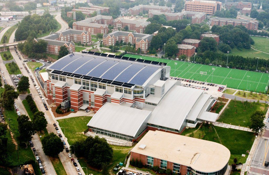 Heliocol Solar Pool Heating At The Summer Olympics In Atlanta Solar Pool Heating Solar Projects Heated Pool