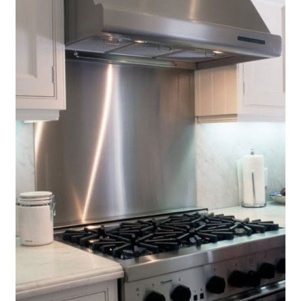 stainless steel splash choose any pattern ideas for the house rh pinterest com IKEA Stainless Steel Backsplash Home Depot Stainless Steel Backsplash