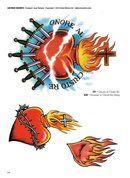 Sacred & anatomical hearts tattoo