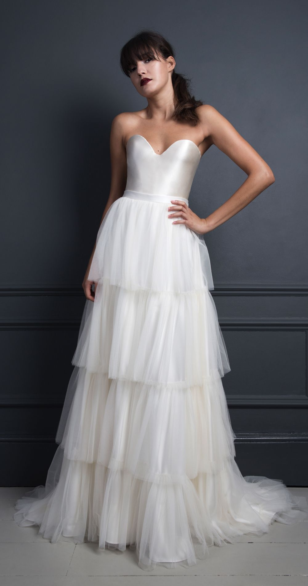 The cool bridal collection from halfpenny london wedding