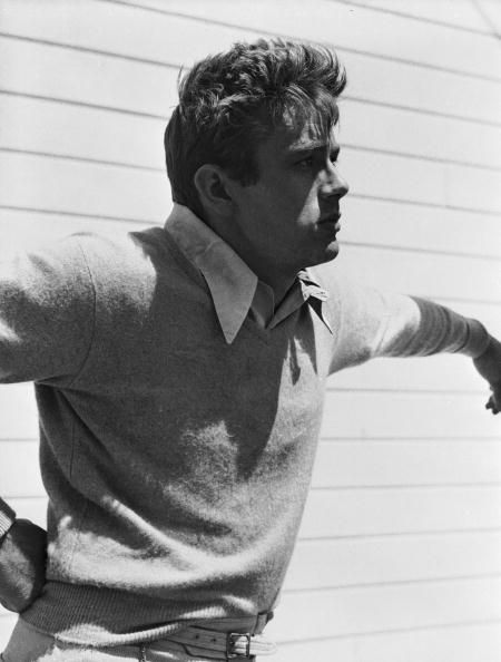 James Dean or Brad Pitt?  It's James Dean but this picture had me thinking Brad Pitt is the reincarnation of James Dean.