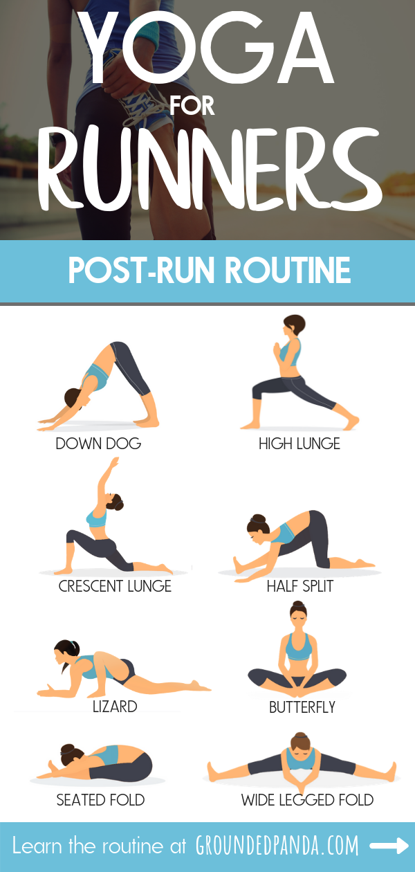 Yoga For Runners 10 Minute Post Run Sequence Free Pdf Yoga For Runners Runners Workout Yoga Routine