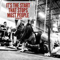 Don't let starting stop you today!   #Fitness #Motivation #inspiration #Fitspo #fitfam