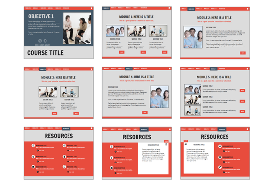 Check Out This Free Articulate Storyline E Learning Course Template