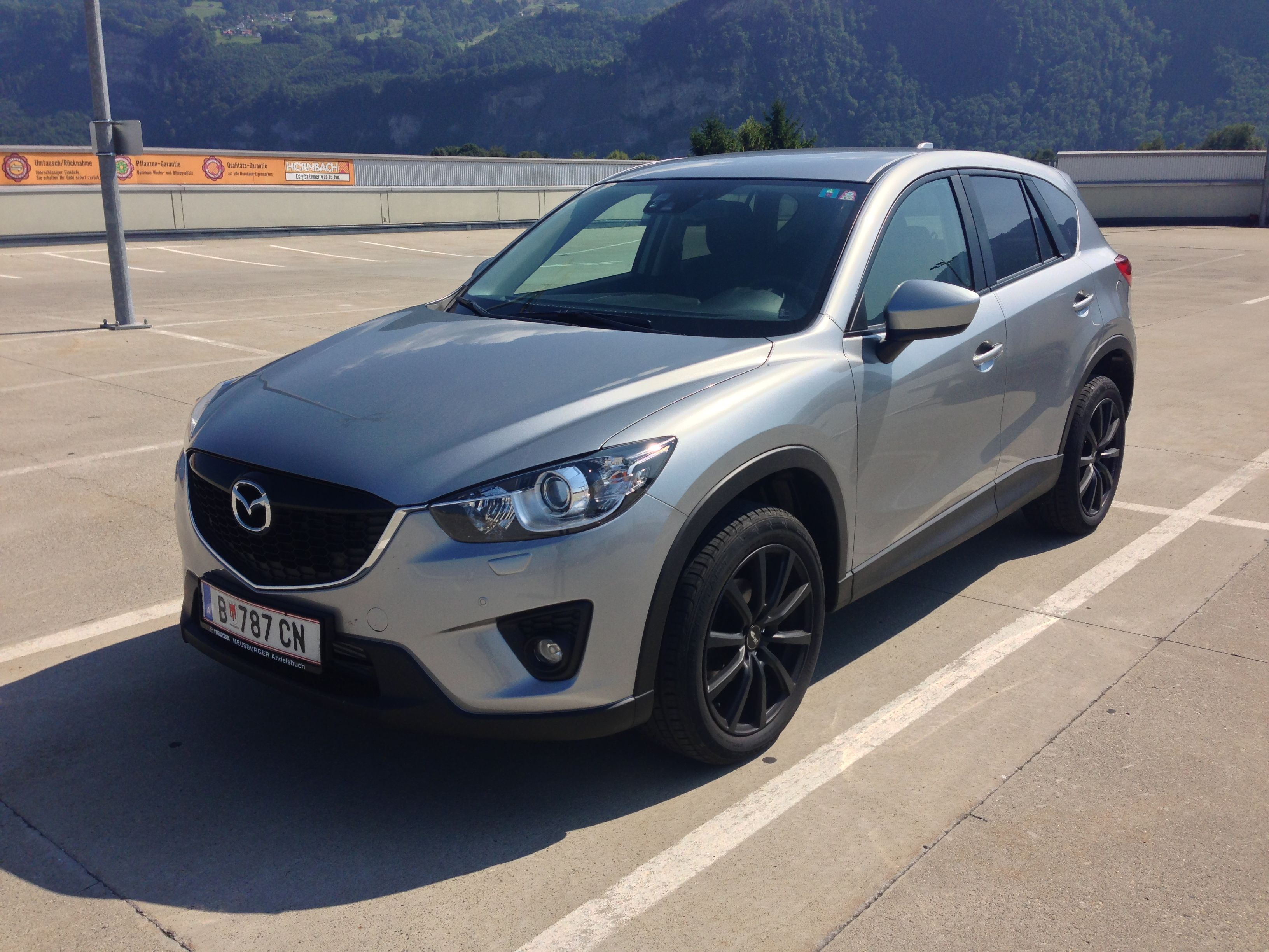 2013 mazda cx 5 looks better without the camouflage mazda cars and 4x4