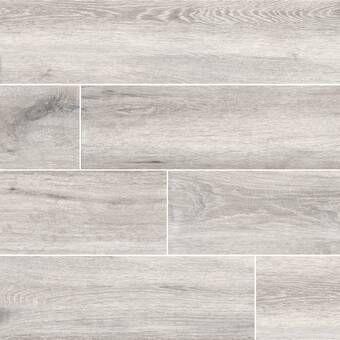 """antoni 6"""" x 36"""" porcelain wood look wall & floor tile in"""