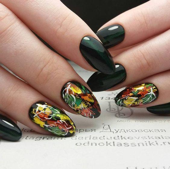 1000 Идей маникюра | Дизайн ногтей | Ногти, Цветы на ...