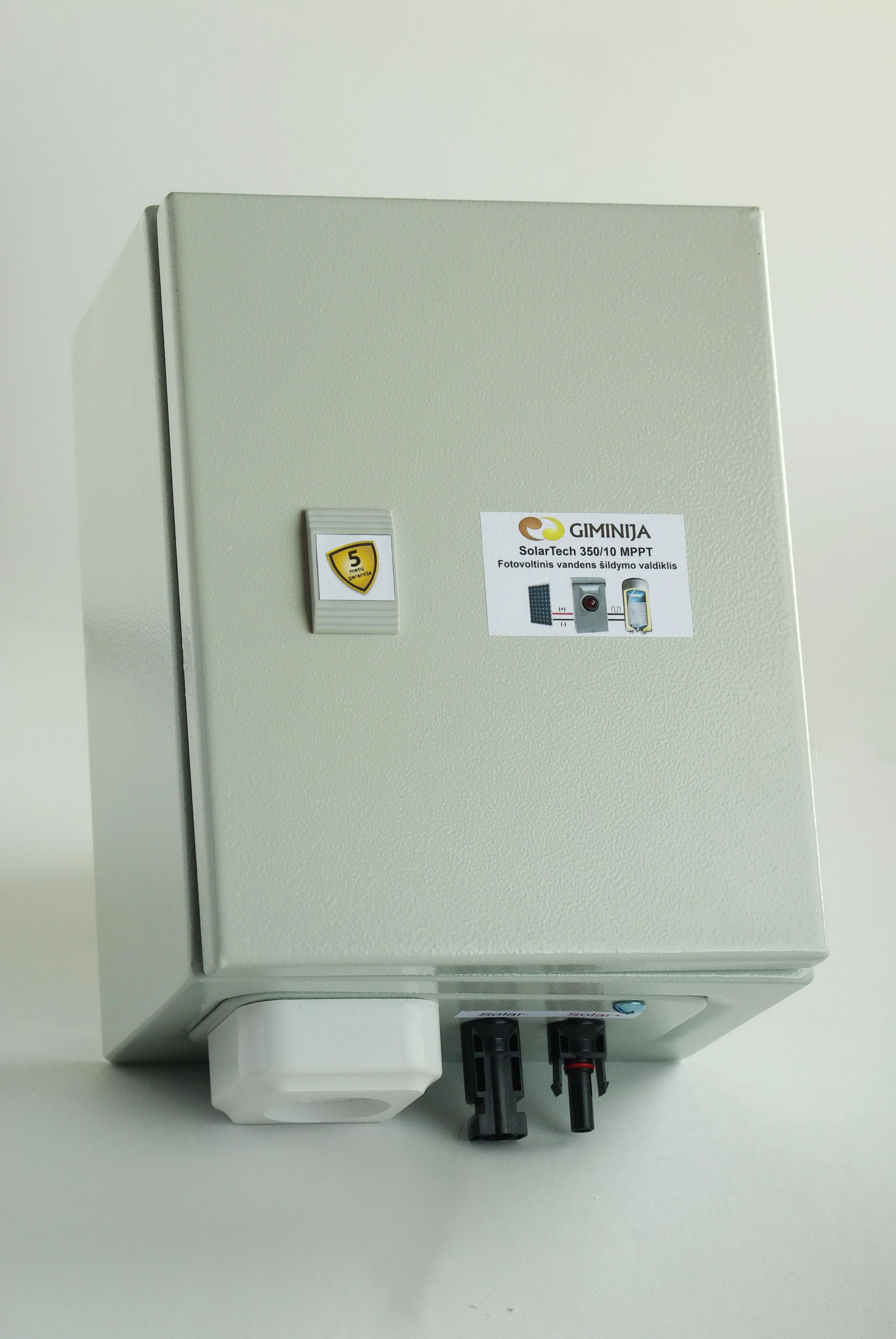Our newest product - efficient solar PV water heating ...