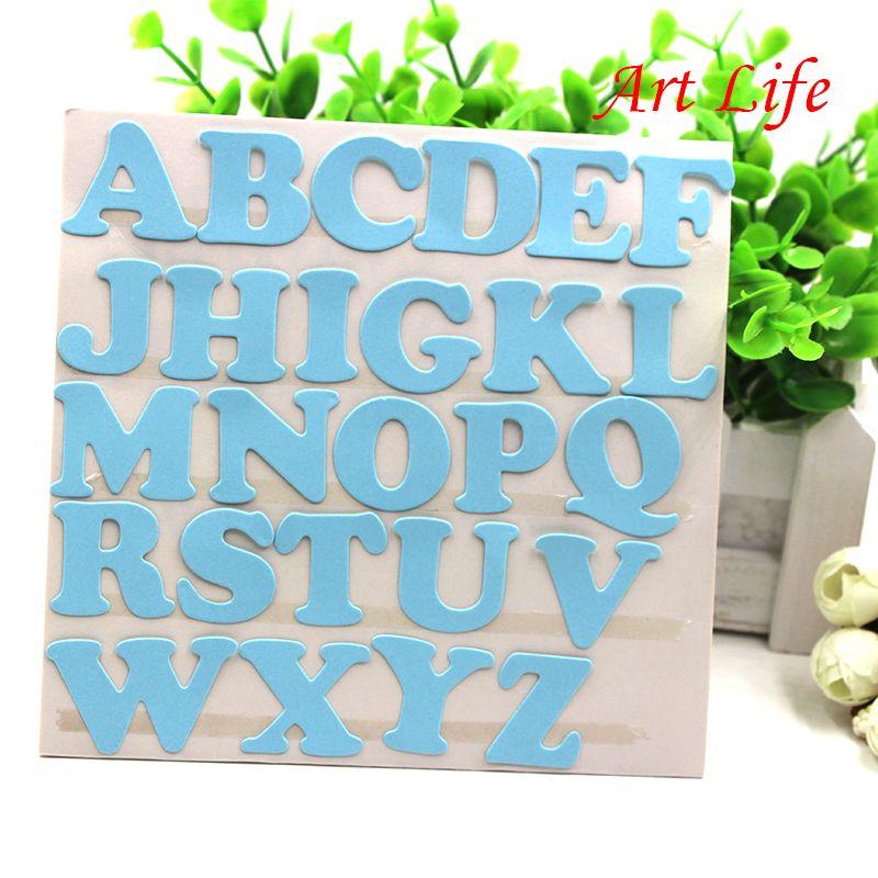Alphabet Metal Cutting Dies Stencil DIY Scrapbook Embossing Paper Card Decor