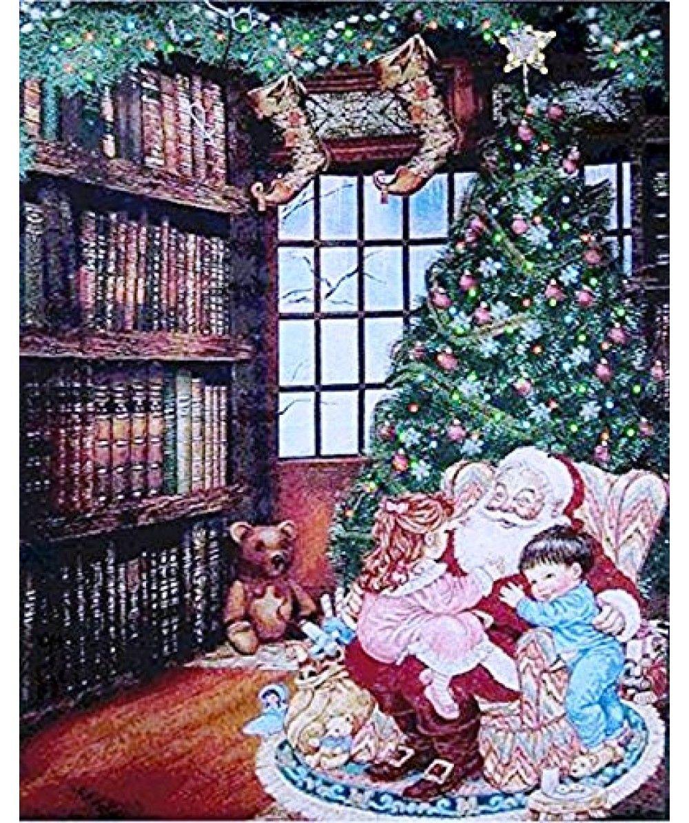 christmas fiber optic tapestries christmas tapestries