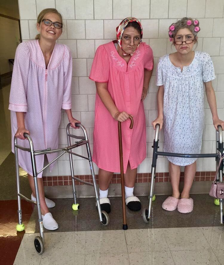 Sexy elderly ladies