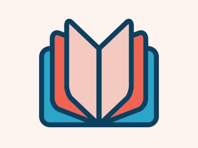 Open Book Icon #pictograms #publishing | Icon design, Typography book
