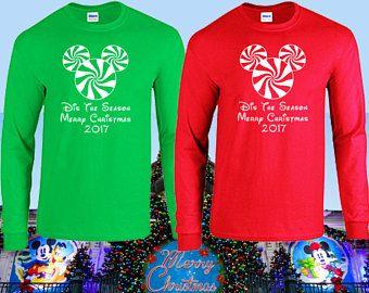Animal Kingdom Christmas Shirt.Walt Disney World Matching Family Christmas Long Sleeve