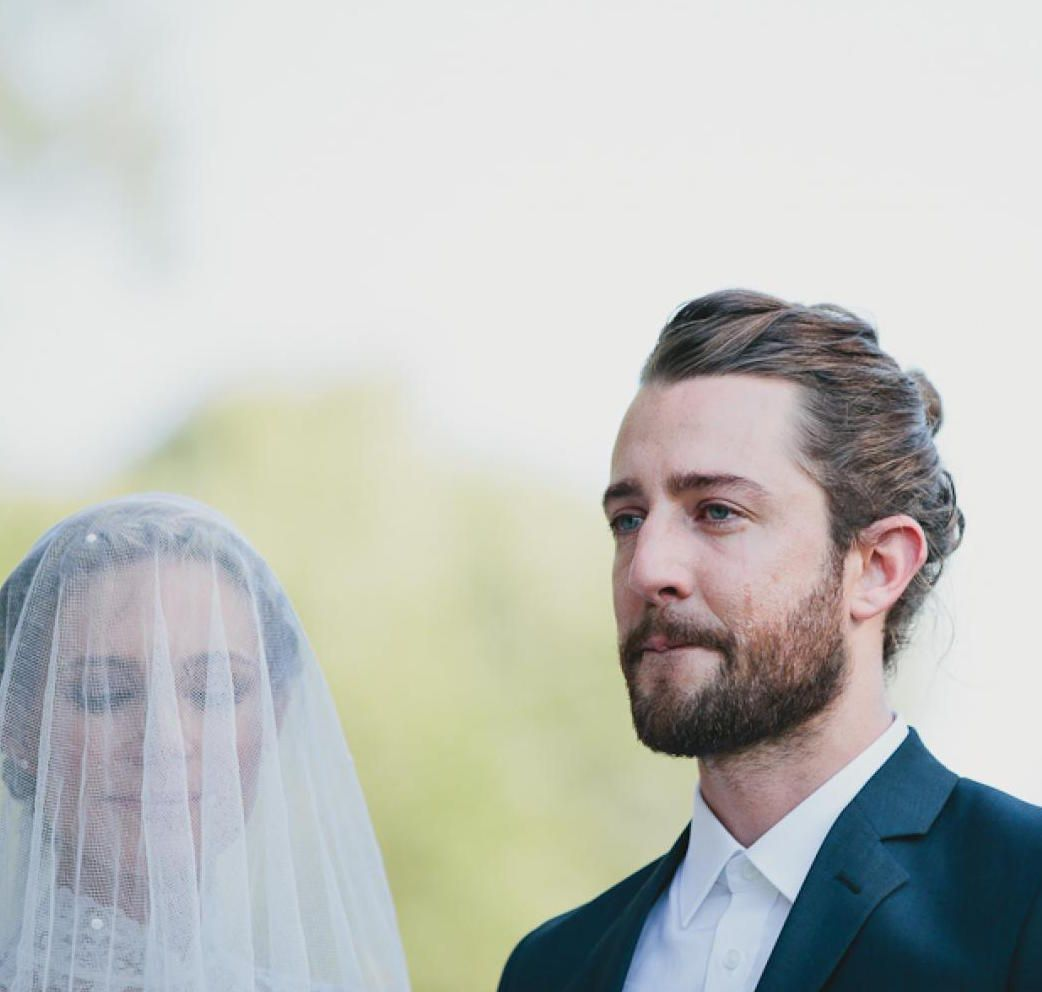 7 grooms who rocked the formal man bun | man bun, grooms and wedding