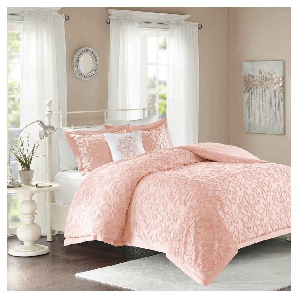 Pink Amber Comforter Set (Full/Queen) 4pc Comforter sets