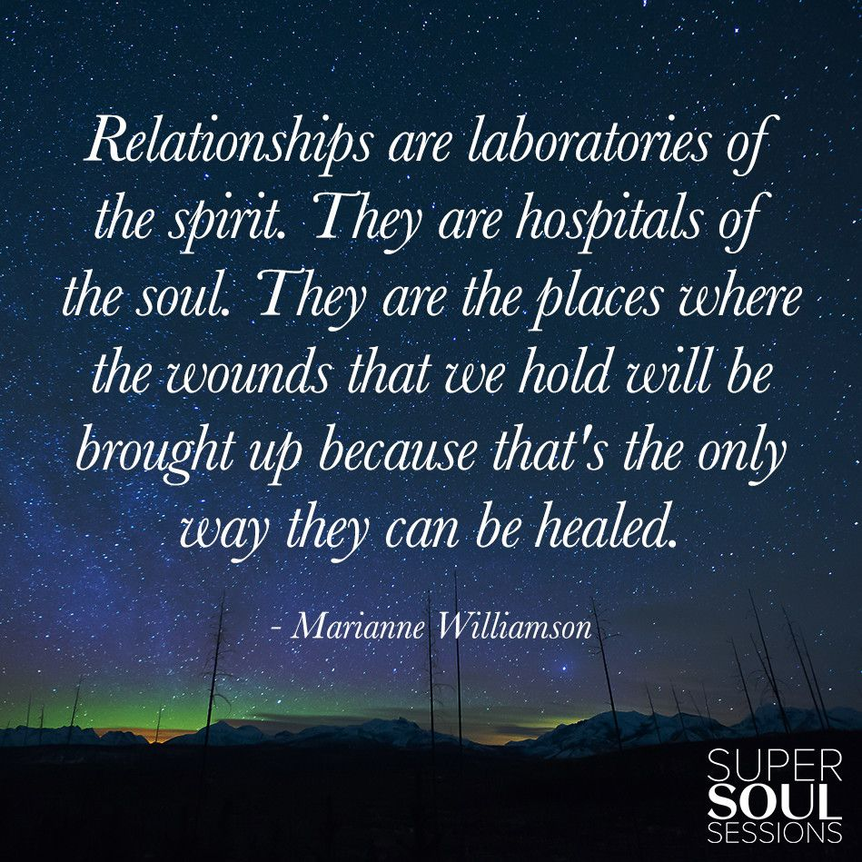 Relationships: Marianne Williamson Quote About Relationships