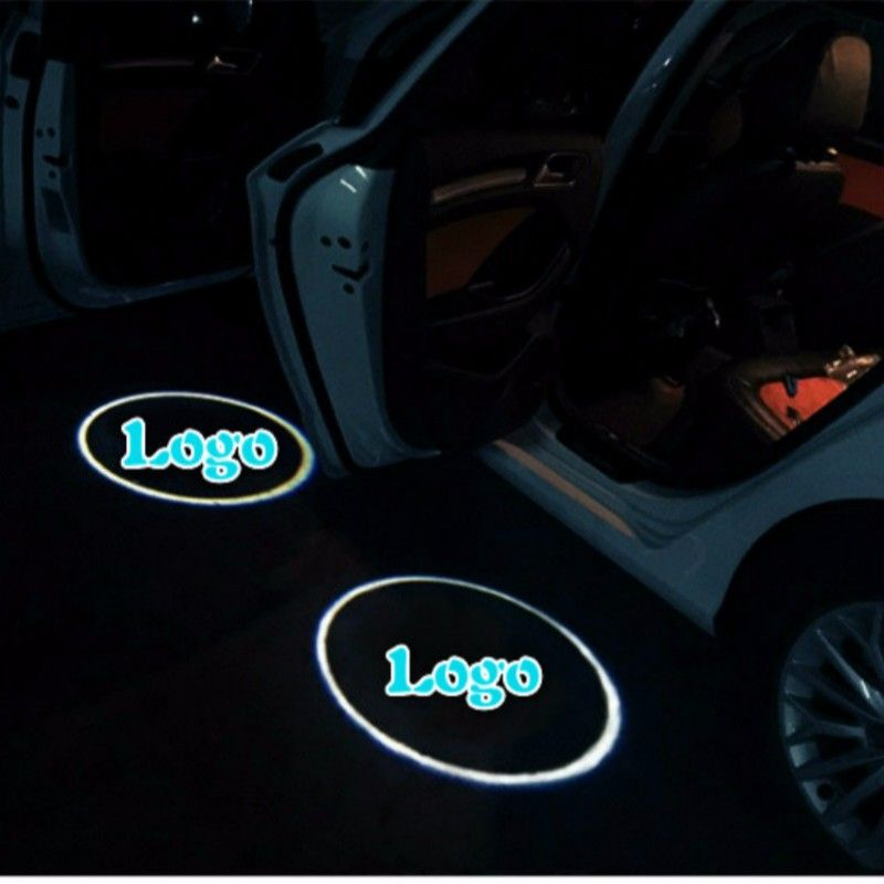 2pcs Ram Logo Wireless Car Door Projector Led Light For Ram 1500