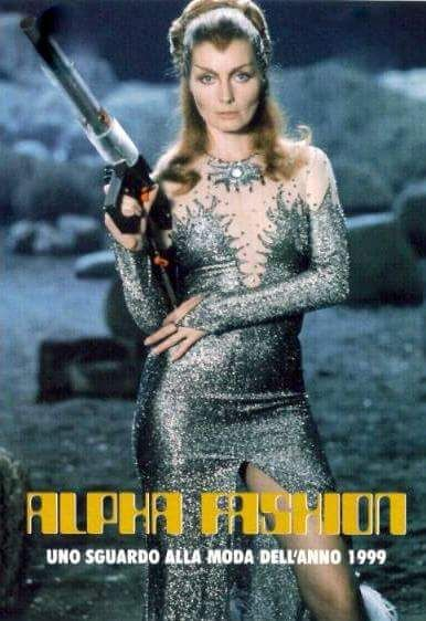 Catherine Schell As Maya From The 70s Uk Tv Series Space 1999 Fashion Week At Moonbase Alpha Space 1999 Retro Future Fashion Galaxy Fashion