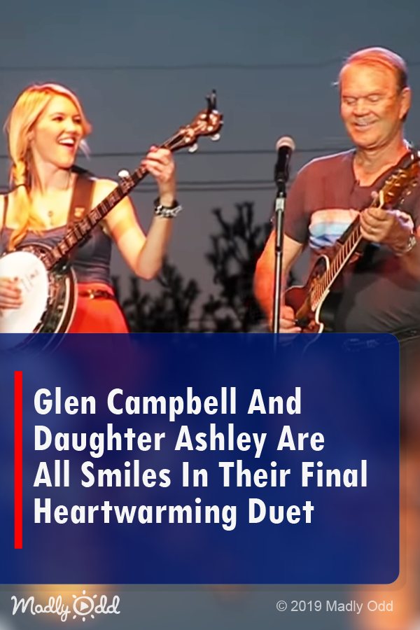 Watch Glen Campbell And Daughter Ashely In Heartwarming Duet Music Singing Song Performance Video Countrymusic Singing Videos Glen Campbell Music Songs