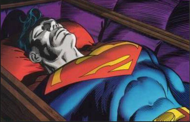 Znalezione obrazy dla zapytania justice league superman corpses