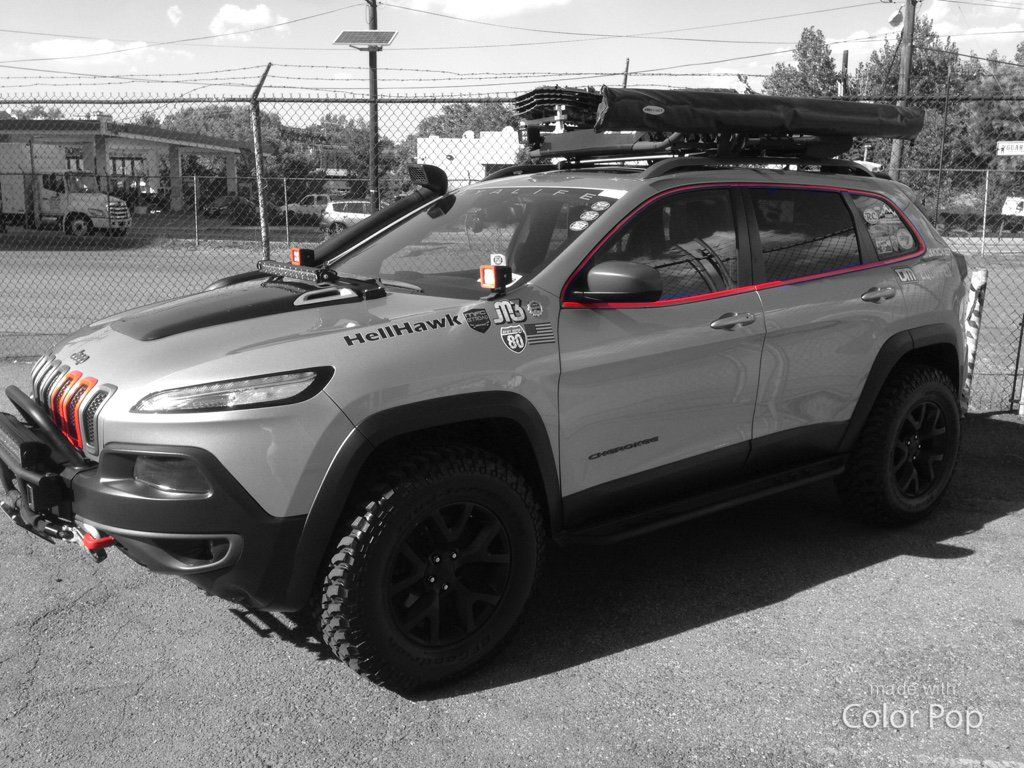 Pin By Steven Russel On Void Jeep Cherokee Customised Trucks Jeep