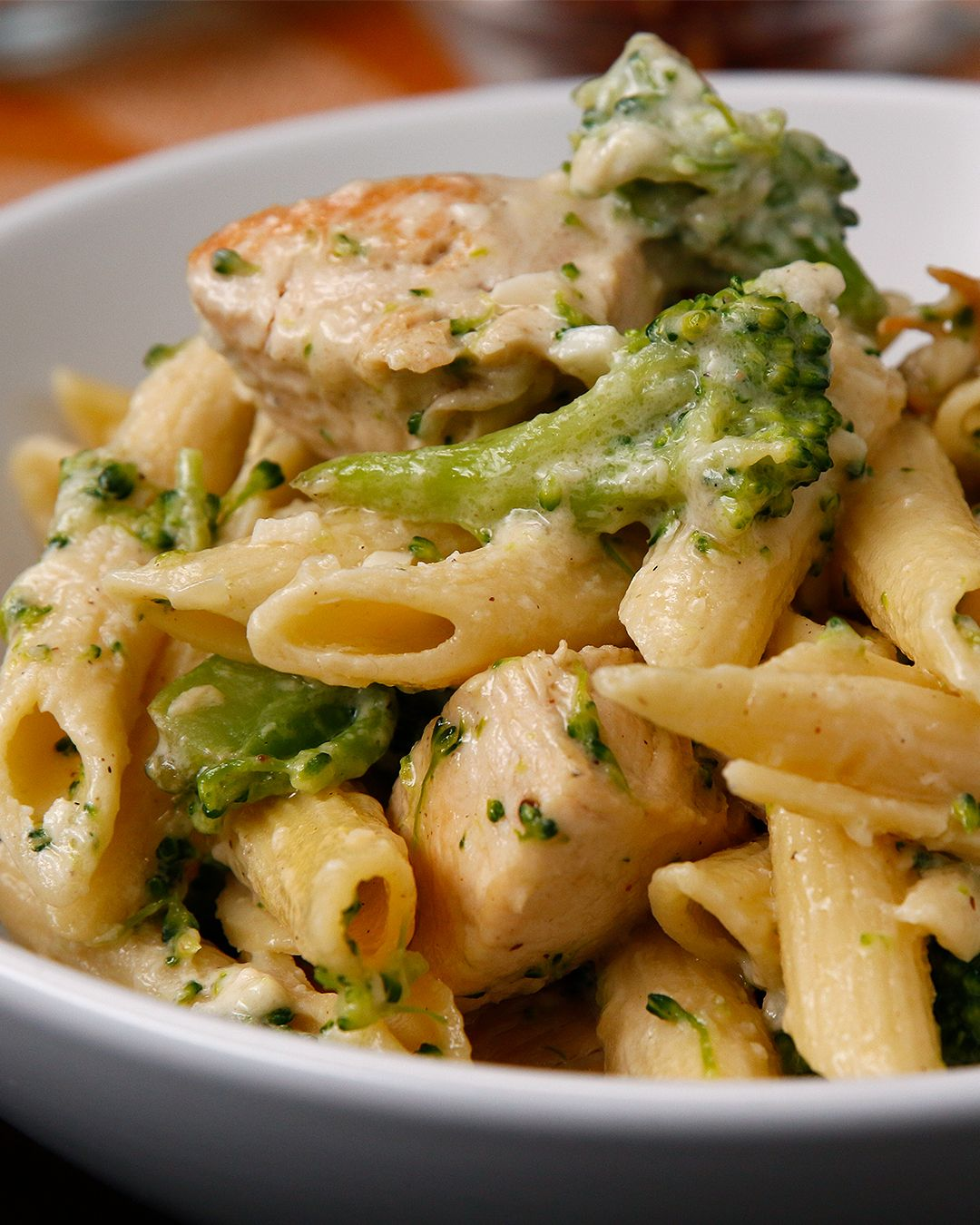 Chicken And Broccoli Alfredo With Images Pasta Dishes Healthy