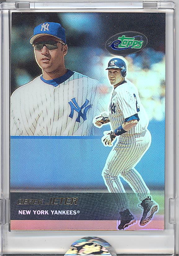 Etopps In Hand 2003 Derek Jeter New York Yankees World