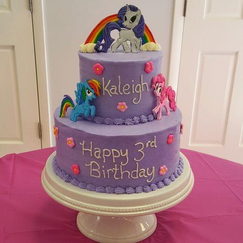 My Little Pony Birthday Cake By wwwfreshbakedvacom Birthday Cake
