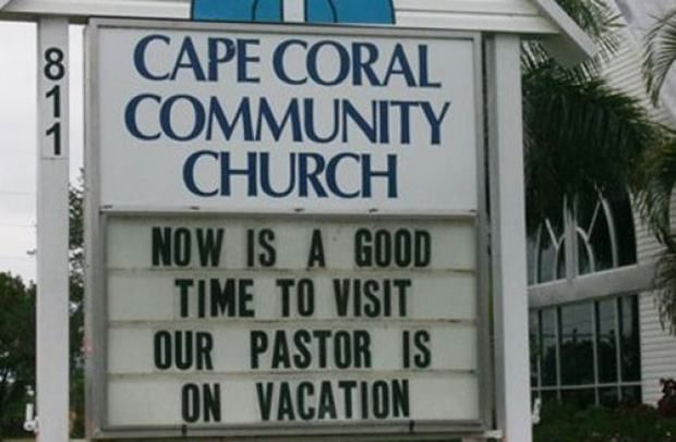 Church Sign Quotes Brilliant Sarcasm And Too Much Crap Funny Church Signs 30 Pictures