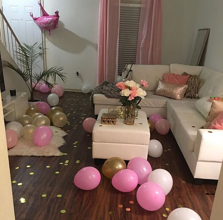 I Decorated My Living Room To Celebrate My Birthday It Turned Out Pretty Good Simple But Pr Diy Living Room Decor Stylish Living Room Family Room Decorating