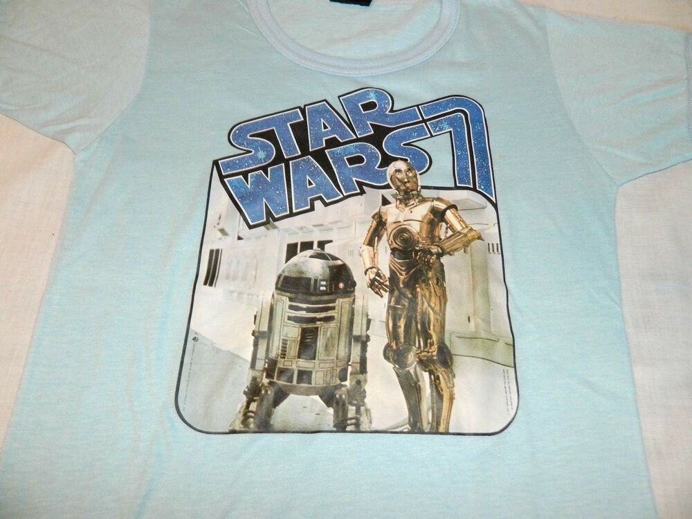 Star Wars Boys R2-D2 and C-3PO Vintage T-Shirt