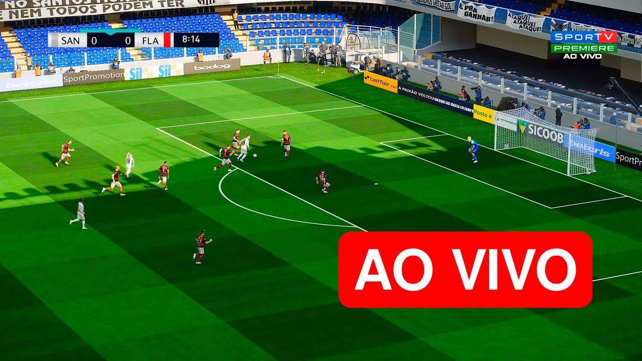 Assista AGORA Santos x Flamengo 🔴AO VIVO Online em HD