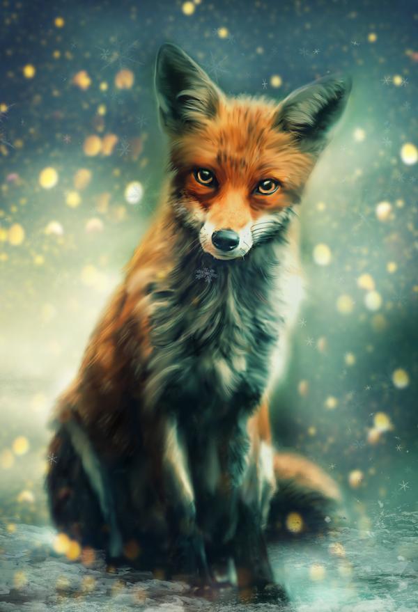 Mr Fox By Phatpuppyart Studios On Deviantart Cute Animal Drawings Cute Animal Drawings Kawaii Fox Artwork