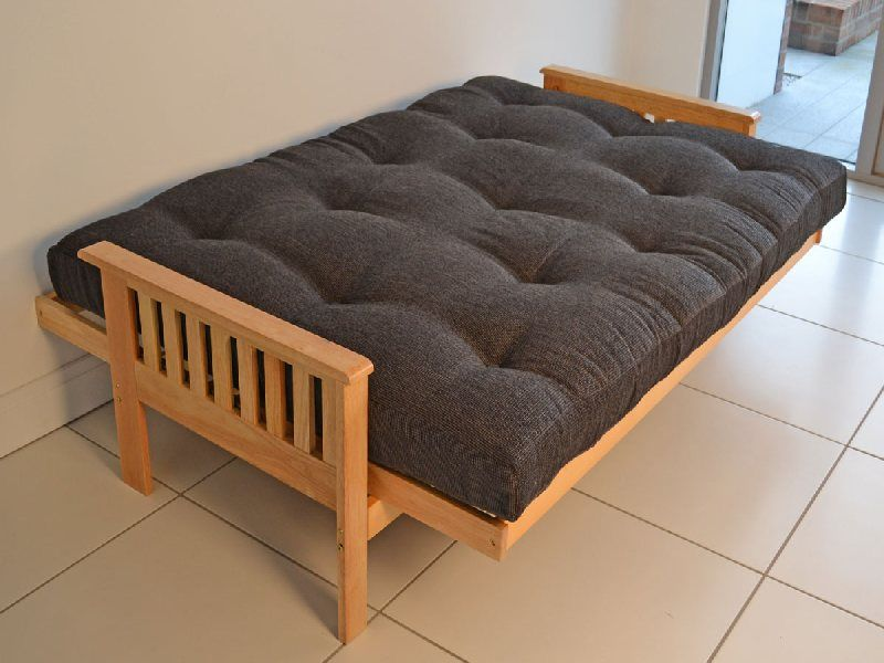 Futon Mattress With Wood Frame And