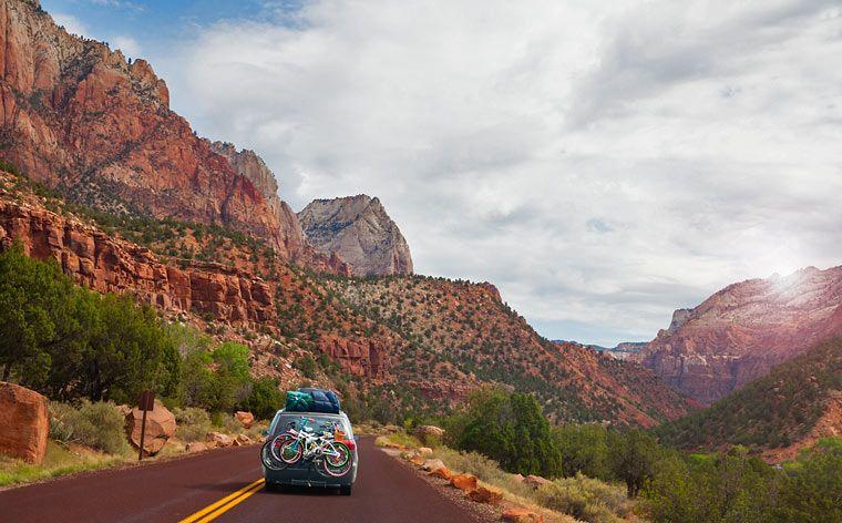 Road trip USA:ssa kanjonien keskellä vie sinut Utahin mahtipontisissa maisemissa