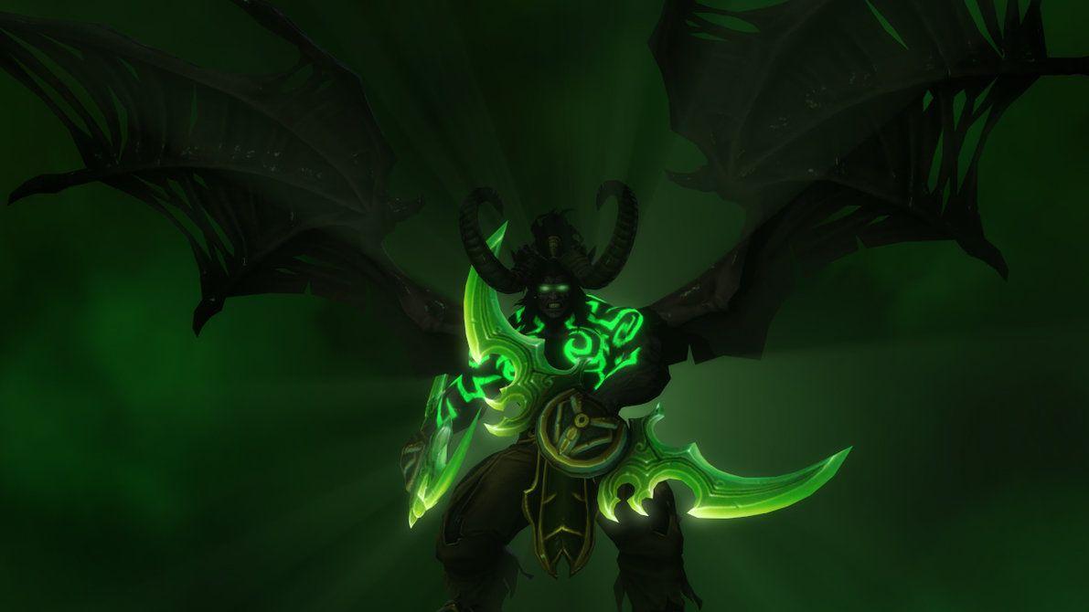 World Of Warcraft Legion Demon Hunter Wallpapers Hd 2560 1440