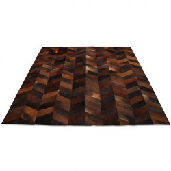 Herringbone Cowhide Rug By Yerra Made In Argentina Via Shopehorne Com 6x4 1080 5x7 1575 With Images Cow Hide Rug Herringbone Rug Herringbone Cowhide Rug