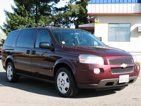 2008 Chevrolet Uplander Extended Sport Minivan 8995 Chevrolet Uplander Cheap Cars For Sale Cheap Used Cars