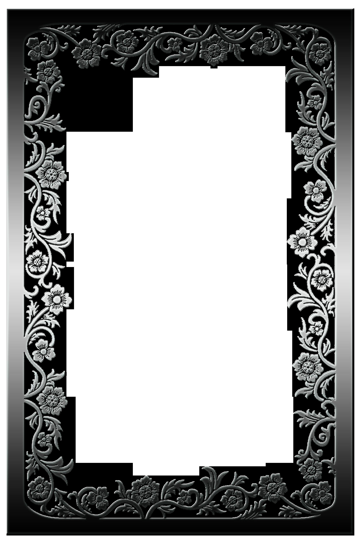 flores de plata | Frame | Pinterest | Plata, Flores y Marcos