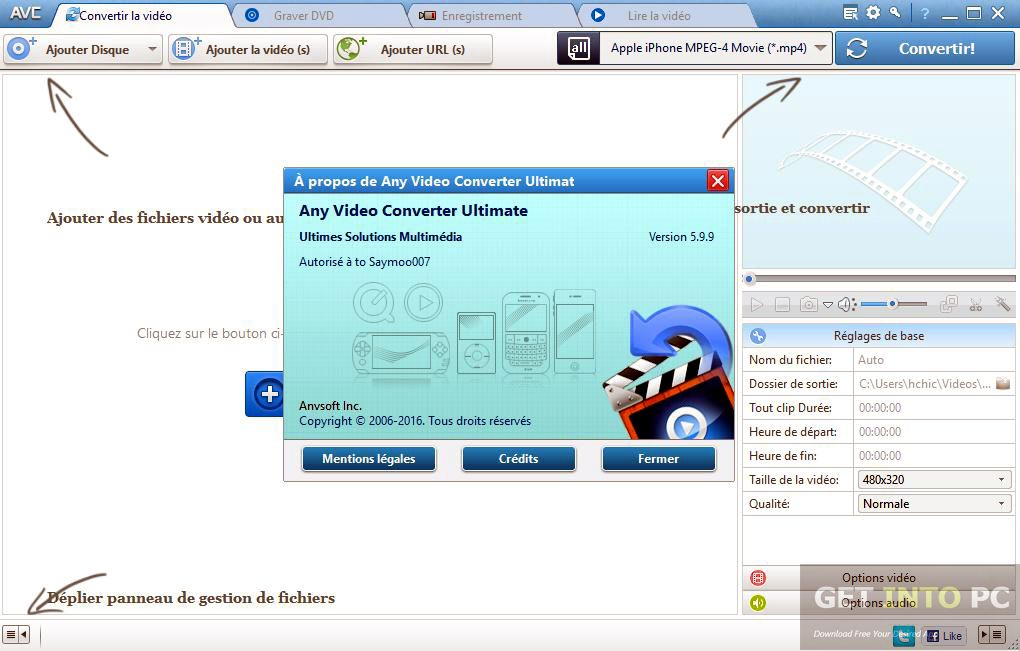 Pin On Any Video Converter Ultimate 5 9 4 Release Full Crack Download