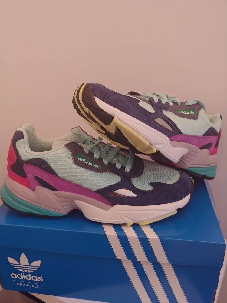 hot sale online b8d5b 0236b Adidas Falcon SOLD OUT Sneakers Women s sz 8 BRAND NEW IN BOX  fashion   clothing  shoes  accessories  womensshoes  athleticshoes (ebay link)