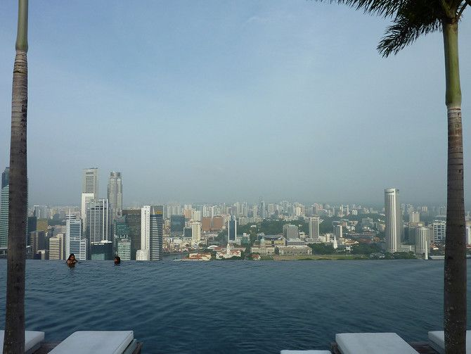 The Infinity Pool At The Marina Bay Sands In Singapore Sands