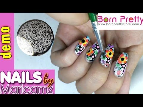 Born Pretty Store Haul10 Coupon Nail Stamping Plates Polishes