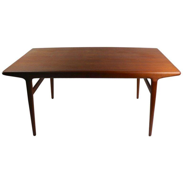Danish Modern Teak Dinning Table By Johannes Andersen Vintage Danish Modern Furniture Dinning Table Teak Dining Table