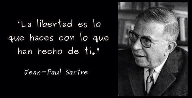 Miguel Carbonell On Jean Paul Sartre Frases Y Libertad