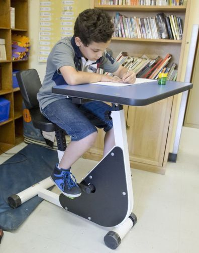 A Bicycle Desk For Pupils With Adhd