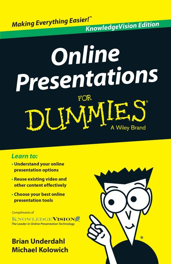 Online Presentations For Dummies Everything You Need to Combine - resumes for dummies