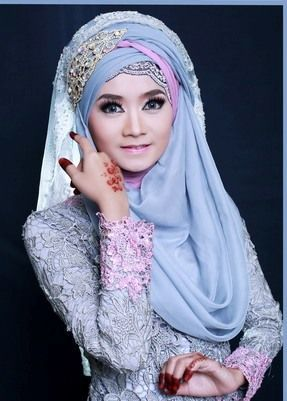 138 Best Indonesia Wedding Images Bridal Hijab Dress Wedding